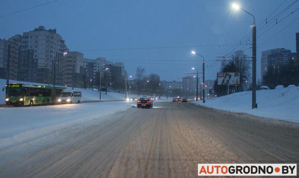 Снег в Гродно 2018 2019