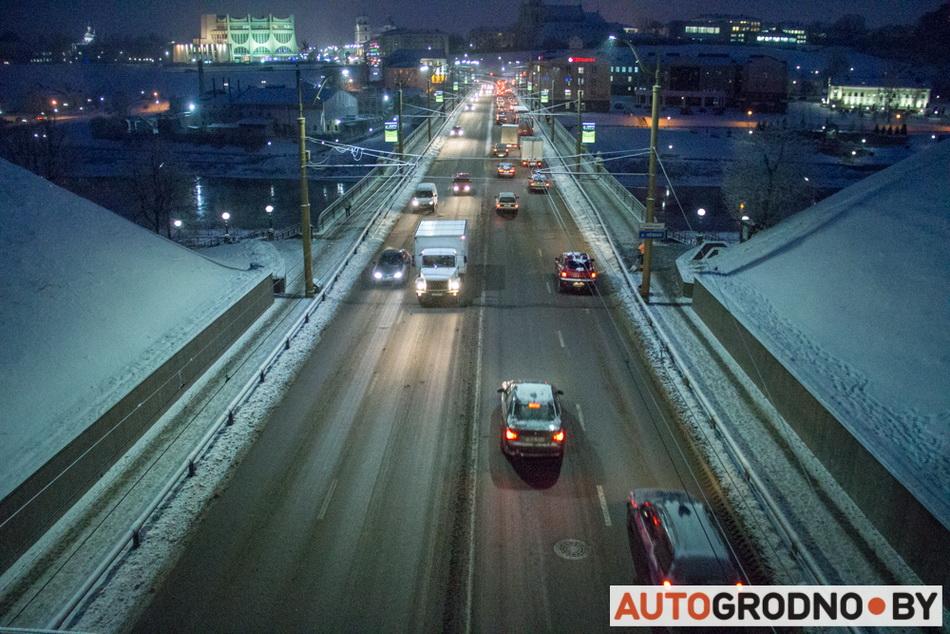 Мороз в Гродно