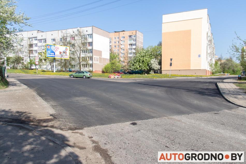Улицу Калиновского отремонтировали