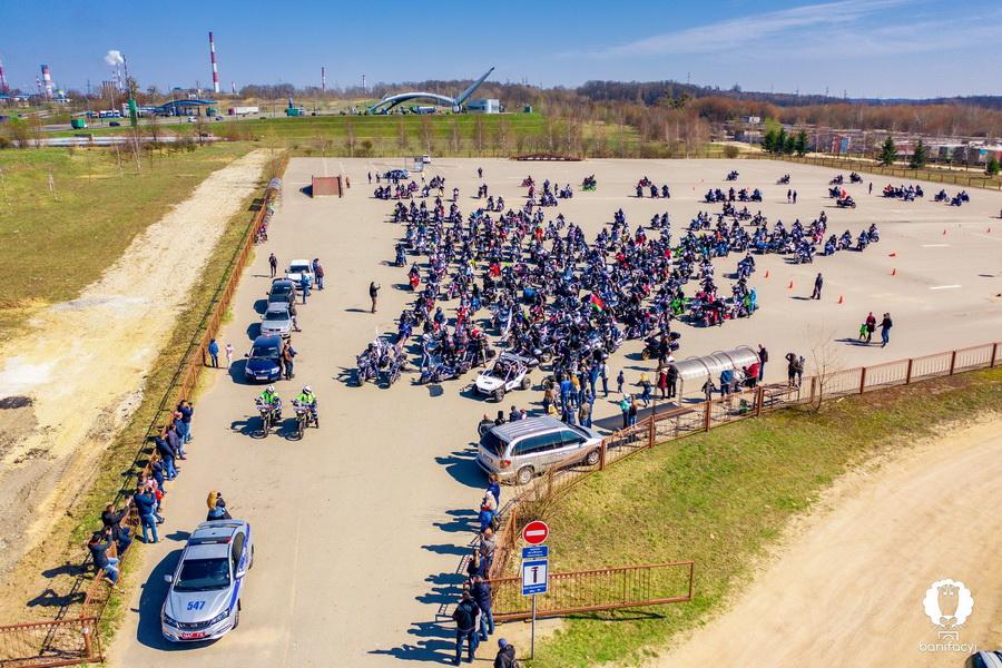 Открытие мотосезона Гродно 2019