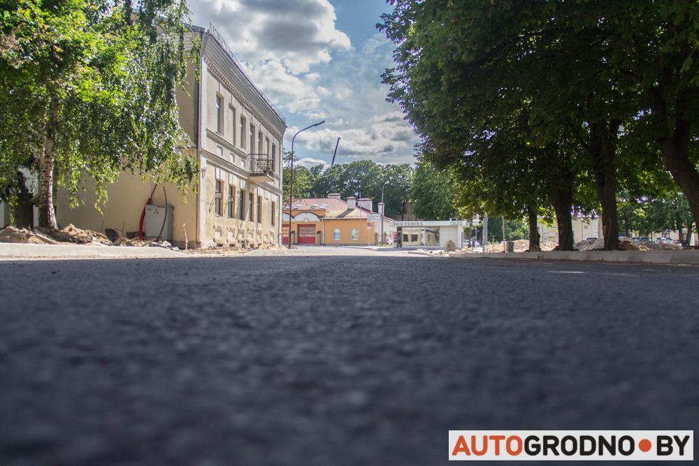 Большая Троицкая в Гродно открыта для движения