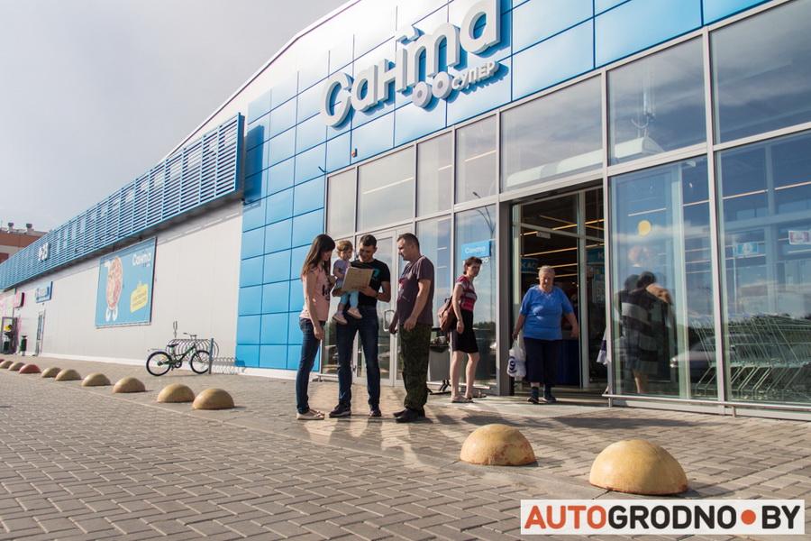 Сбор подписей против шумных мотоциклистов Гродно