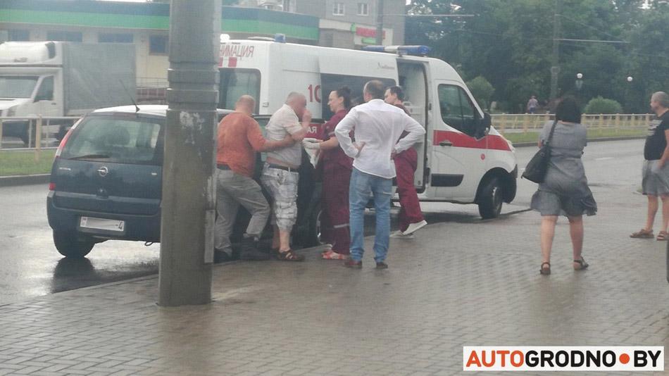На улице Суворова в Гродно сбили пешехода