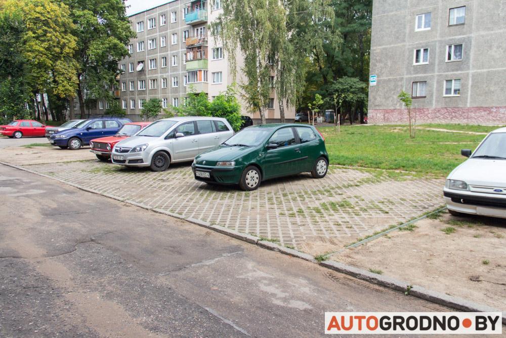 Экопарковка в Гродно и Гданьске. Сравнение