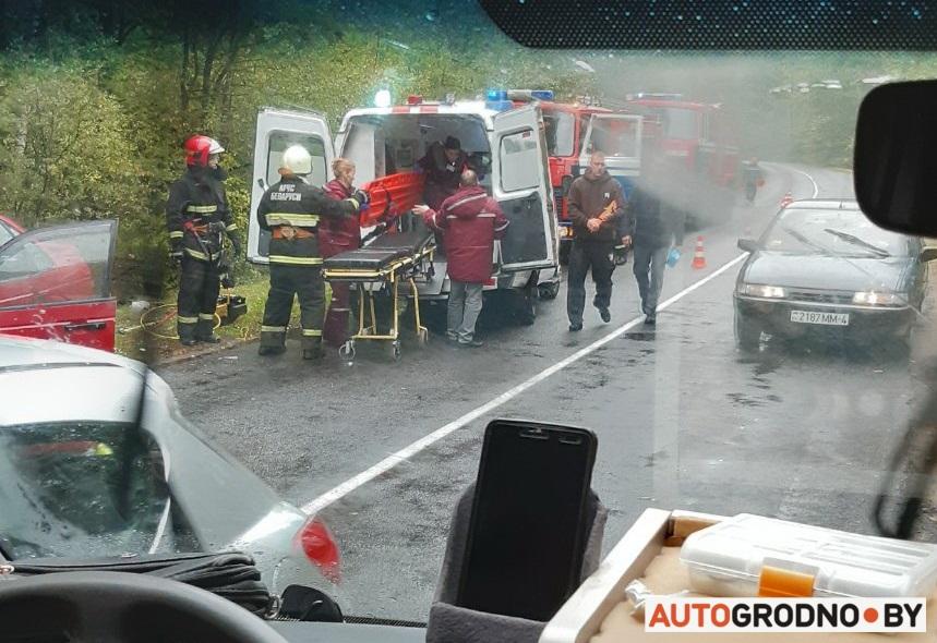Авария возле Поречья 30 сентября - между Рыбницей и Богушовкой