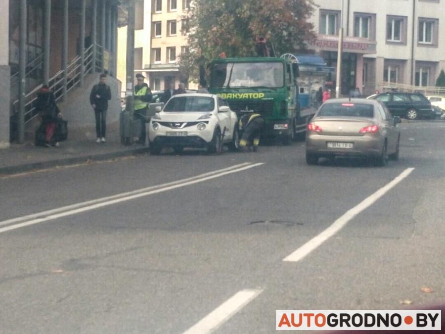 Эвакуатор ГАИ в Гродно