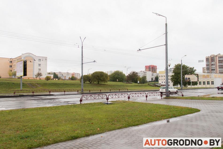 На проспекте Я Купалы в Гродно убрали лежачие