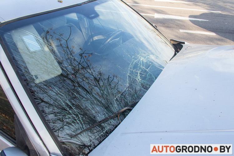 Авария - отказали тормоза 23 октября 2019 Гродно Курчатова