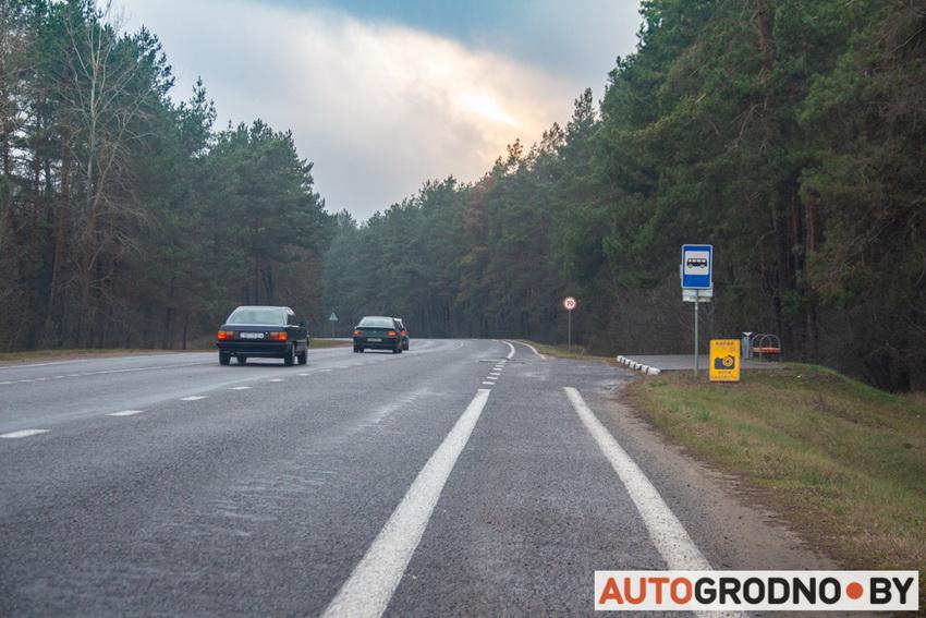 Новая камера контроля скорости в Гродно
