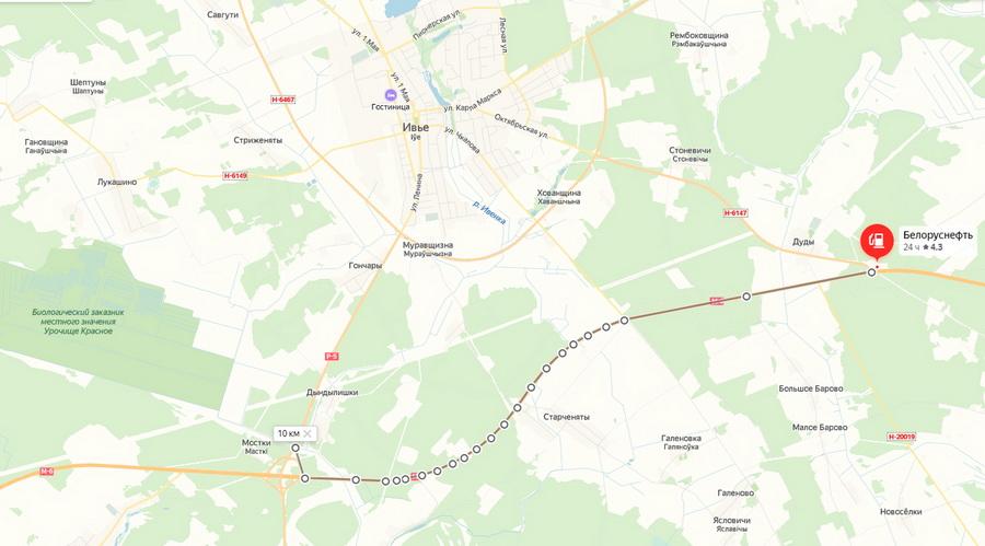 Недочет новой трассы М6 Минск Гродно