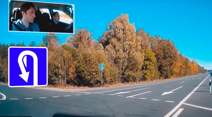 Пробел и недочет в организации дорожного движения на Трассе М6 Минск Гродно возле Ивья