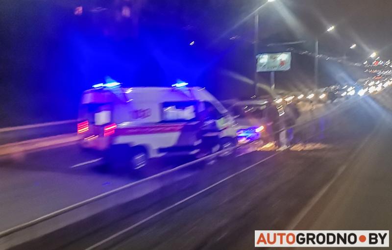 Наезд на пешехода в Гродно 13 декабря 2019
