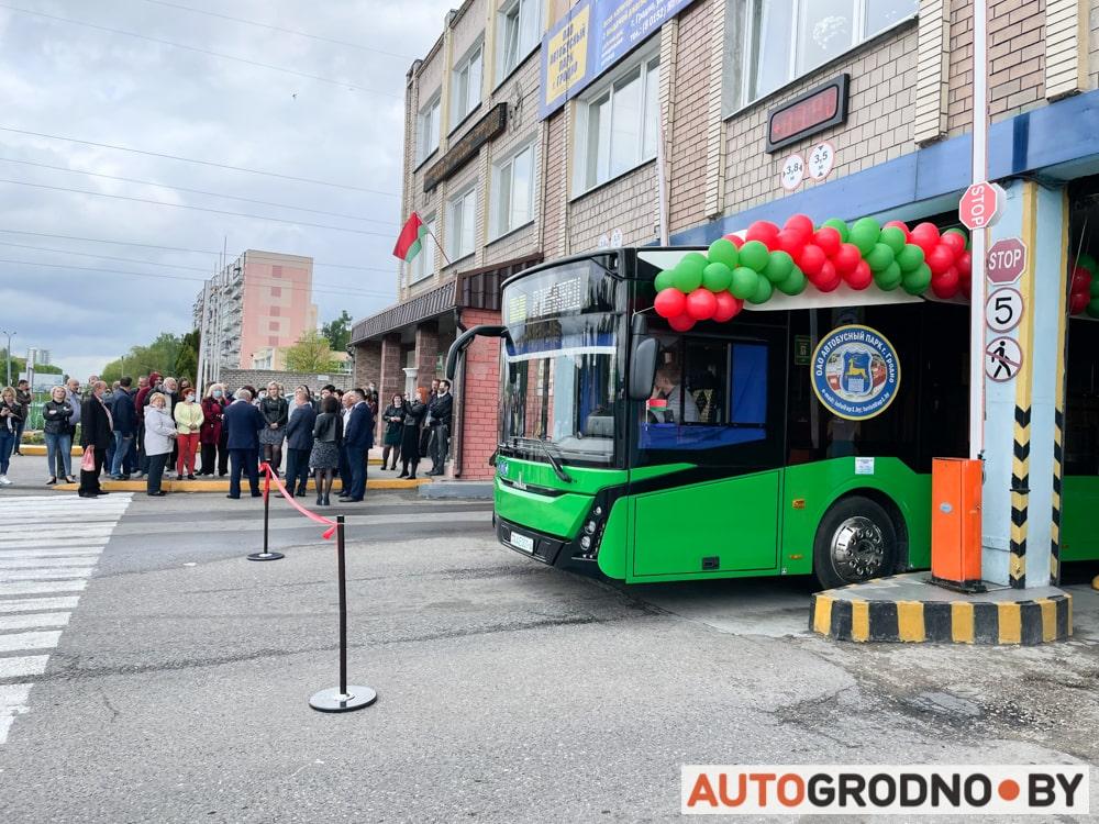 MAZ-303e10 Гродно электробус МАЗ первый