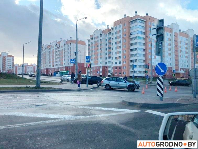 Авария на Ольшанке 22 января 2020