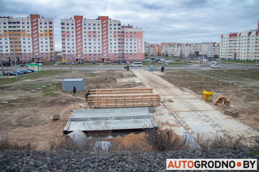 Переход под железной дорогой между Грандичами и Девятовкой