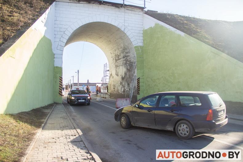 Арка на Подольной в Гродно