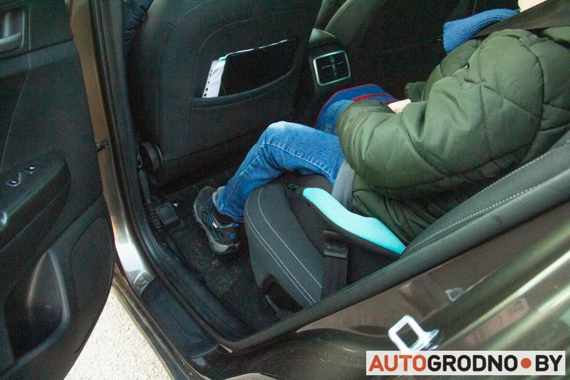 Как в Гродно перевозят детей в автомобилях