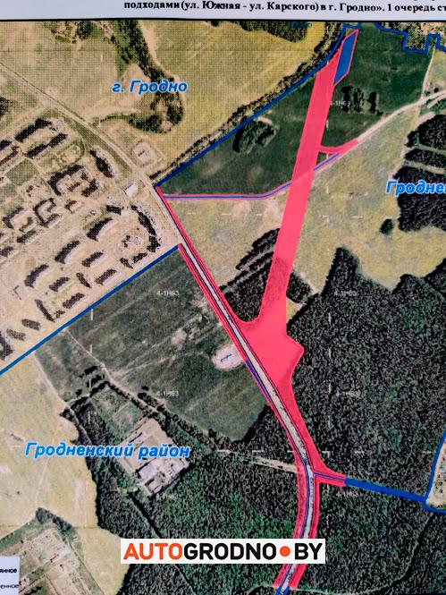 Как на самом деле будет проходить дорога от Вишневецкого моста