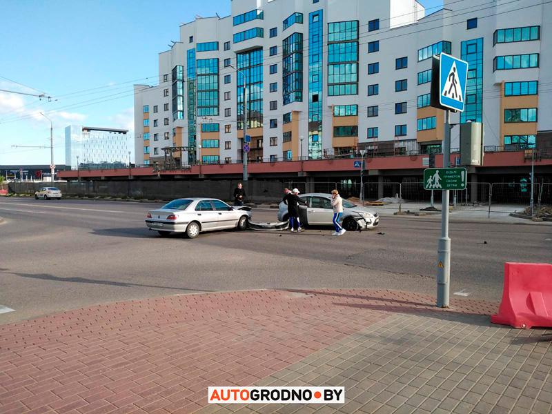 Авария на Янки Купалы в Гродно 31 мая 2020