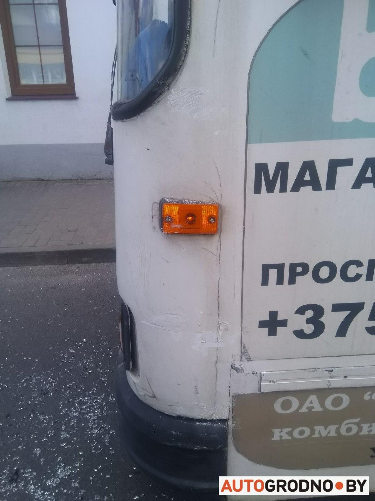 Авария на Карла Маркса в Гродно