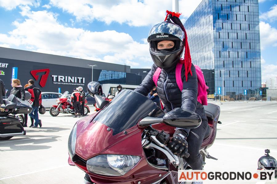 Мотопробег 120 километров на 9 мая мотоциклисты Гродно