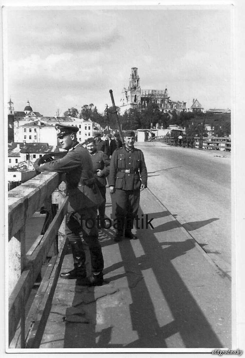 Немцы на мосту. Август-сентябрь 1941 года