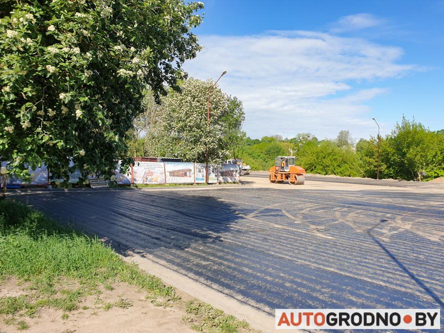 Ремонт парковки на Большой Троицкой в Гродно 2020 год
