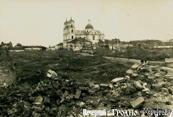 vid na sovetskuyu ploshhad i ulicu krupskoj foto iz kollekcii d korolya