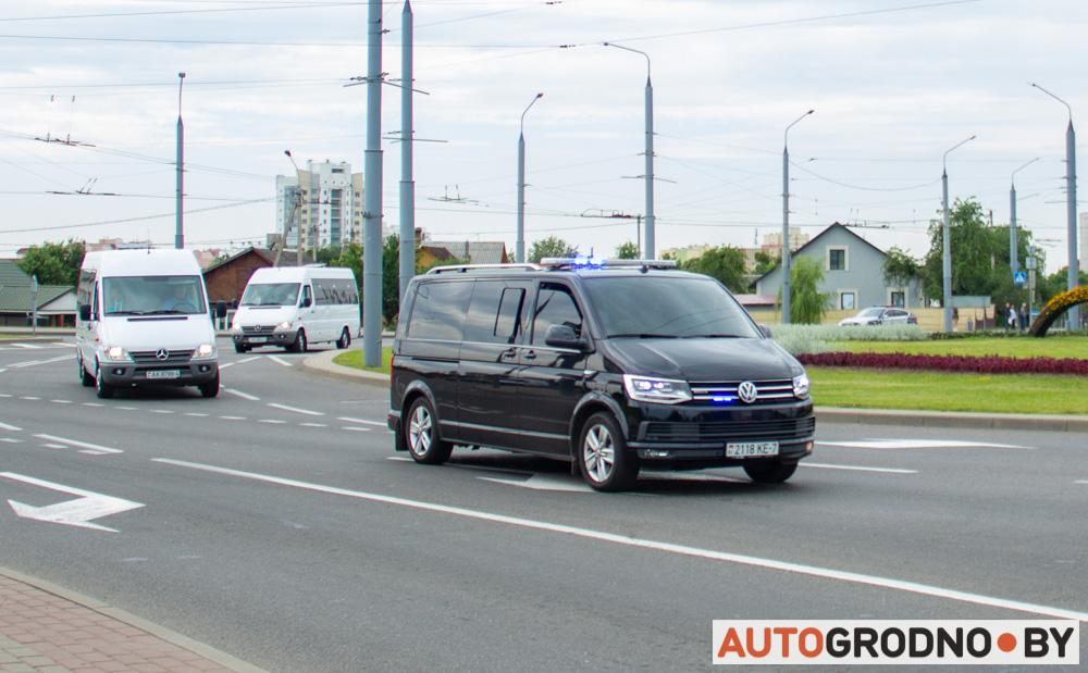Кортеж Лукашенко в Гродно - обзор автомобилей президенсткого кортежа