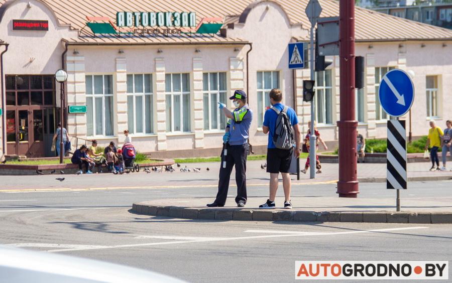 Ремонт проспекта Космонавтов в Гродно 2020