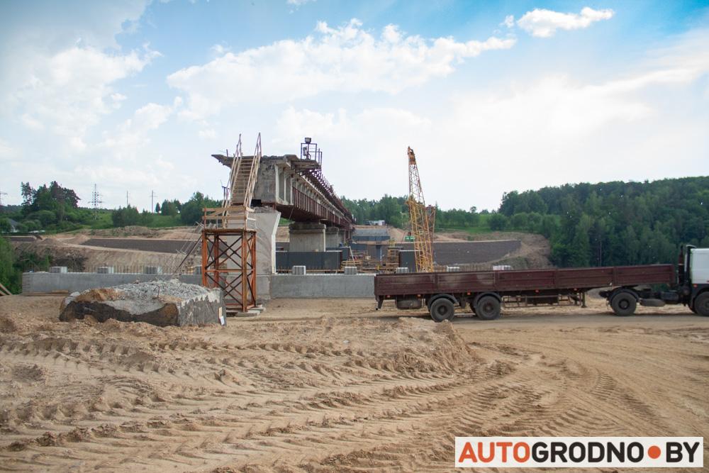 Особенности нового четвертого моста через Неман в Гродно. Интервью АвтоГродно