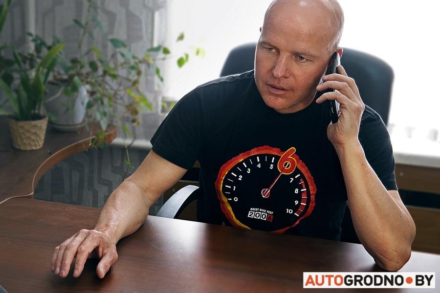 Сергей Бертель - такси Бертель в Гродно - история создания и юбилей 25 лет