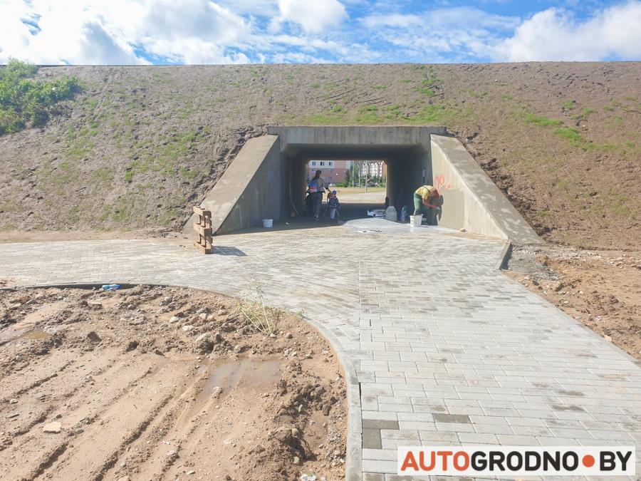 Туннель между Грандичами и Девятовкой построили