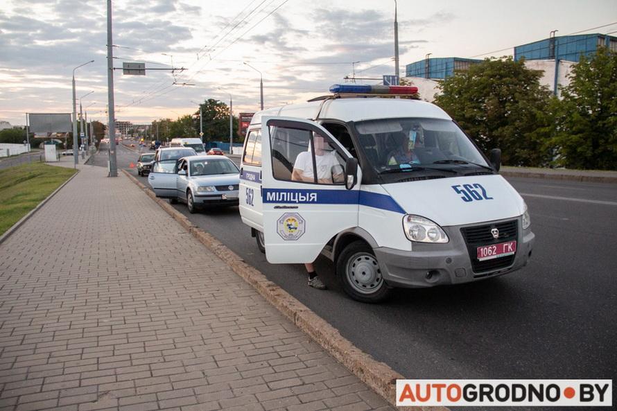 Авария на улице Победы 24 августа 2020
