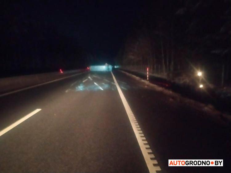Авария на трассе М6 3 декабря микроавтобус
