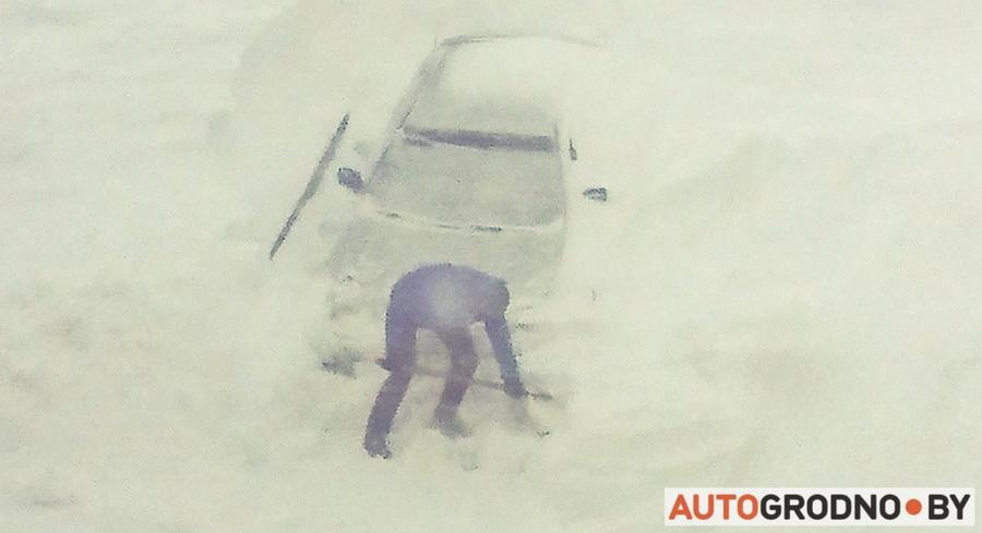 Ольшанка Снег