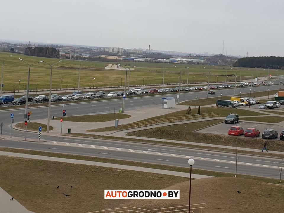 Затор на Ольшанке светофор 2021