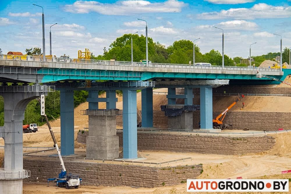 Восточный Южный мост Гродно АвтоГродно строительство