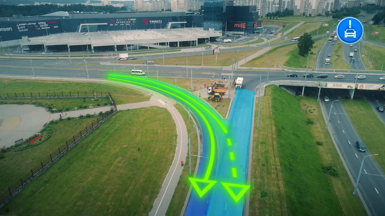 Как проезжать развязку у трассы М6 в Гродно со стороны Вишневца и Южного в сторону Азота