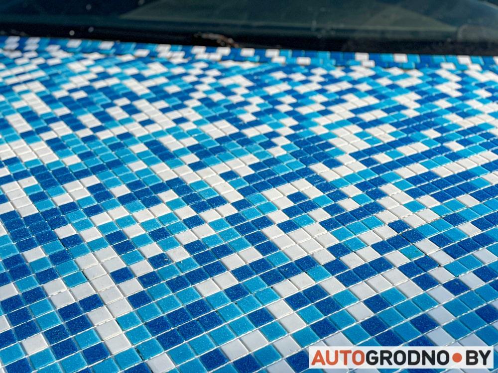 автомобиль обложили декоративной плиткой Гродно