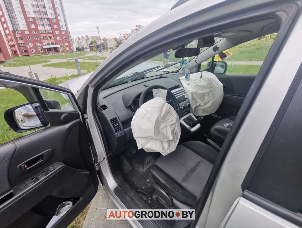 В Гродно на Девятовке водителю стало плохо
