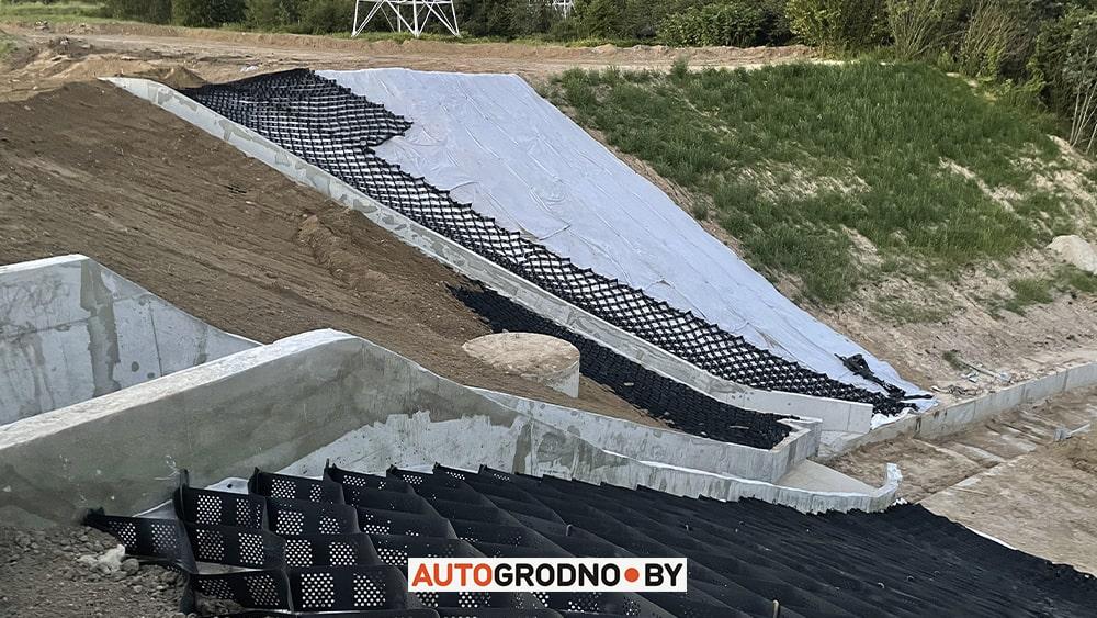 Как восстановили ливнеку и дорогу на четвертом мосту Гродно