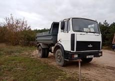 ИП Гуща - аренда  самосвала МАЗ 5551 (10 тонн)