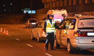 """В Польше возле Белостока провели тотальный """"фильтр"""". Из 2700 водителей 14 оказались пьяными."""