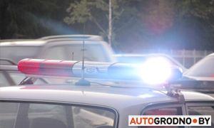 Самая короткая погоня ГАИ Гродно: спустя 2 минуты пьяный бесправник на Renault был задержан