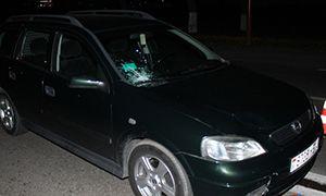 В Лиде на пешеходном переходе Опель сбил школьницу. Фото.